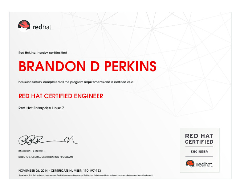 RED HAT CERTIFIED ENGINEER -- Red Hat Enterprise Linux 7 | Flickr