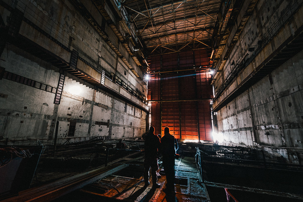 Chernobyl Reactor 5&6 - Main Reactor hall