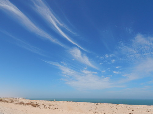 Clouds painted in the sky of Western Sahara | by Waynuma