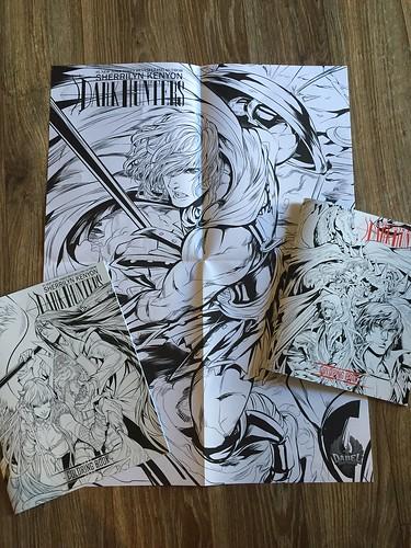 Dark Hunters Coloring Books
