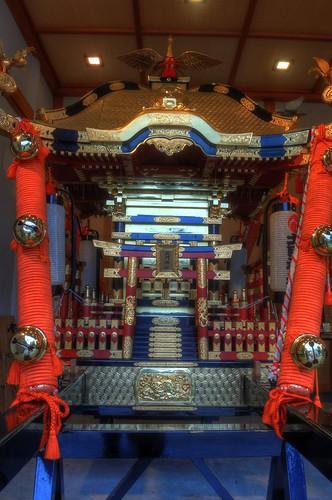 'Mikoshi' at Hokumon Shrine, Wakkanai on JUL 04, 2016 (6)