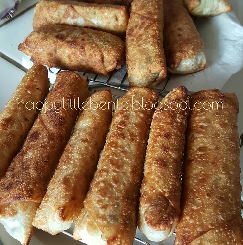Pastrami and Vegetable Egg Rolls | by sherimiya ♥