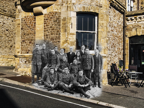 Welsh Borderers at the Highlands Hotel, Boscabel Road | by Kieron Pelling