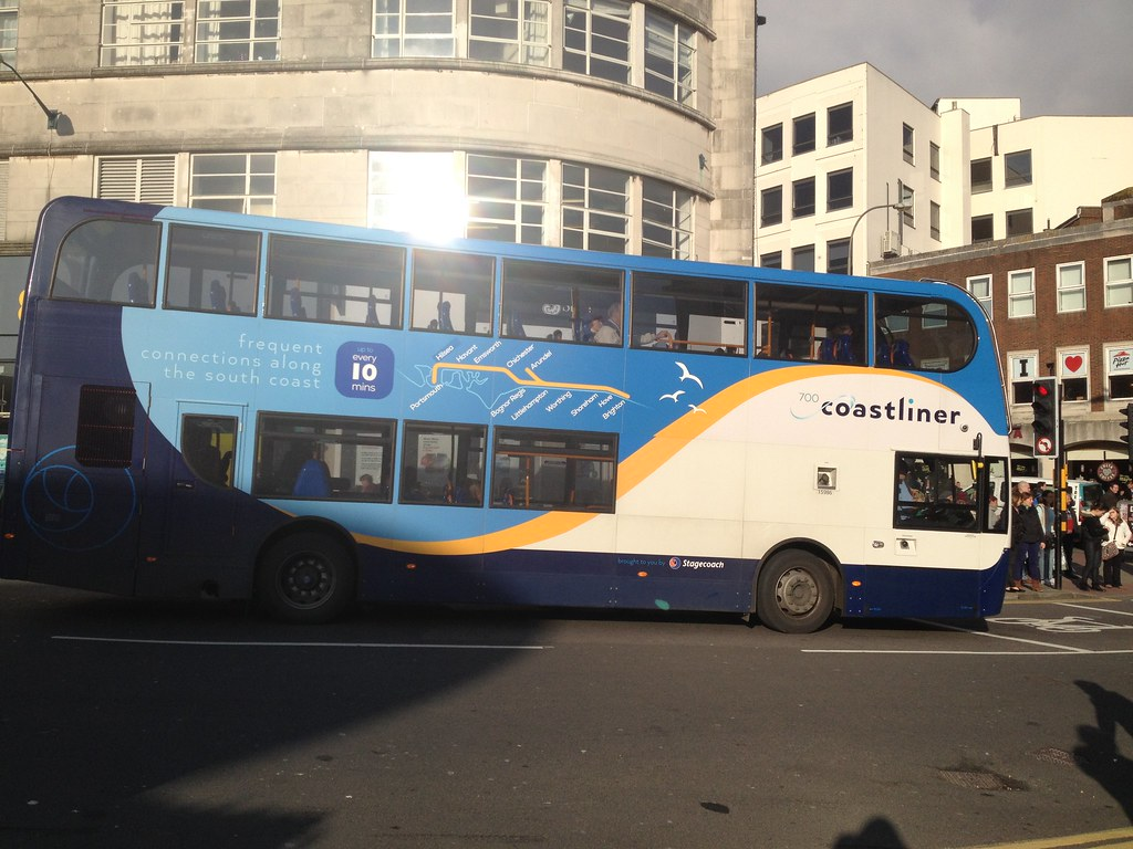 Brightonbusfan81 Side View Of 700 Coastliner Bus
