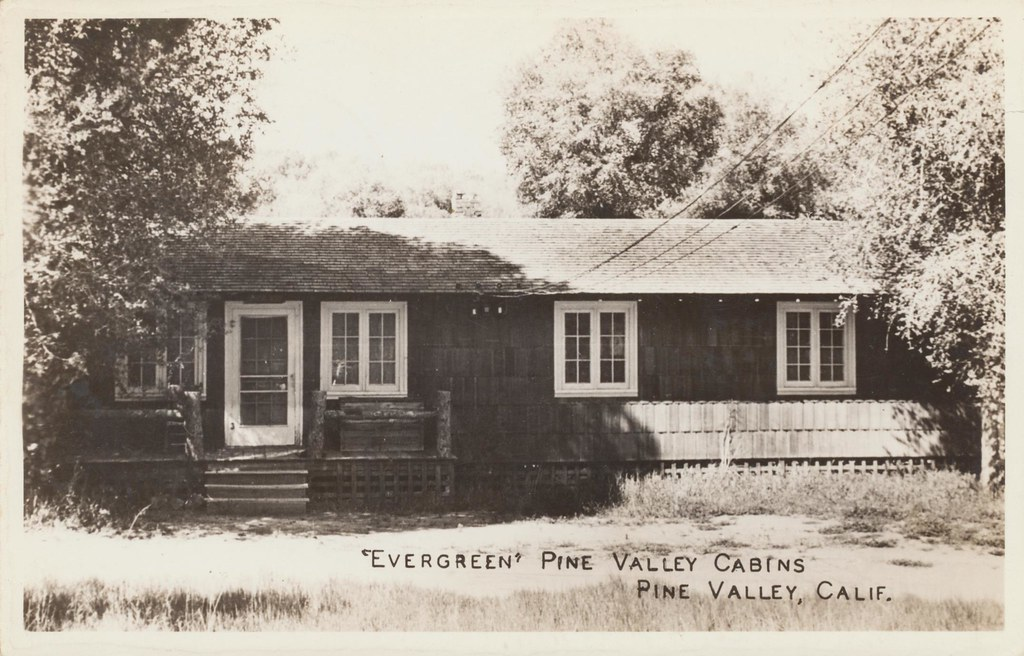Evergreen Pine Valley Cabins - Pine Valley, California