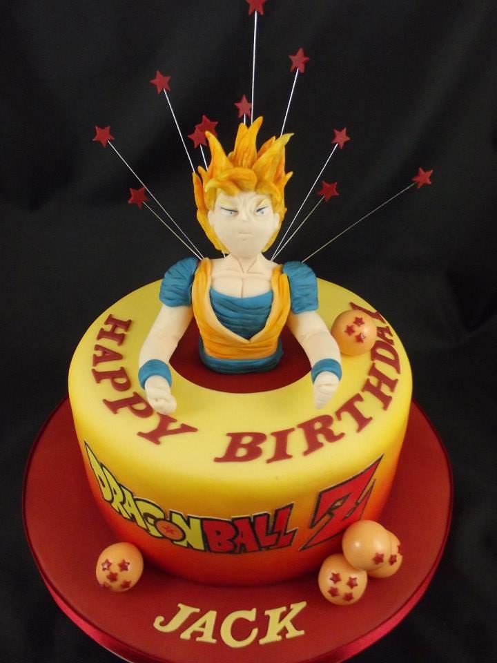 Dragon Ball Z Super Saiyan Birthday Cake Sweet Treats Cakes By