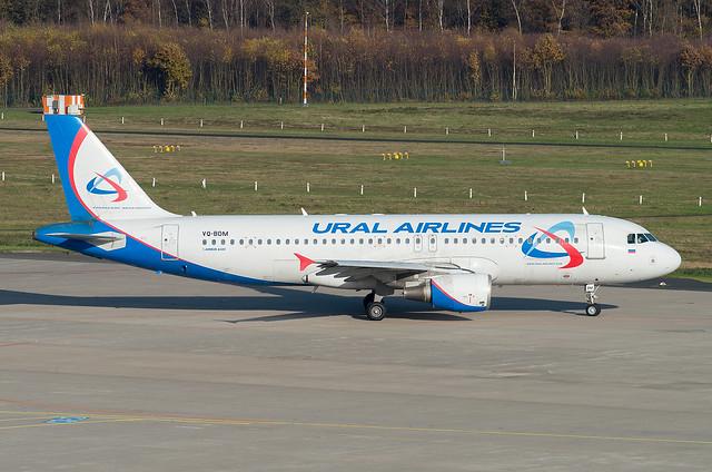 VQ-BDM Airbus A320-214