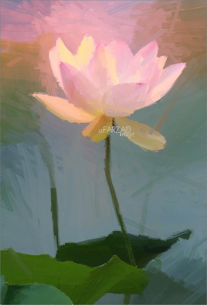 Lotus flower oil paintings lotus flower oil painting p flickr lotus flower oil paintings lotus flower oil painting photographic images using akvis oil paint mightylinksfo
