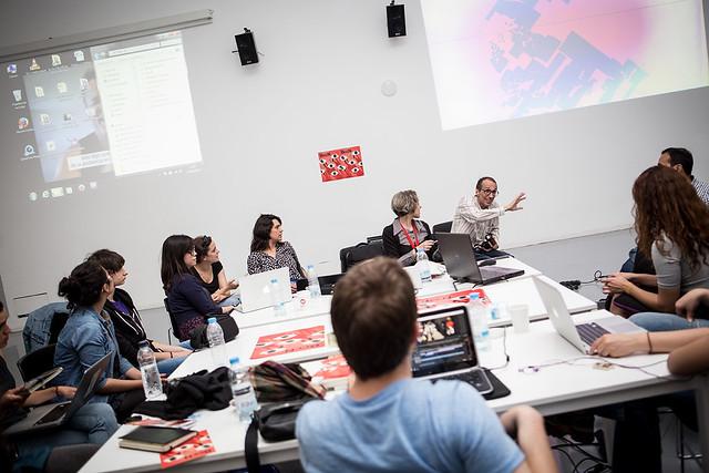 Workshop con el equipo de Soy Cámara en el CCCB dentro del marco del BccN 2016.