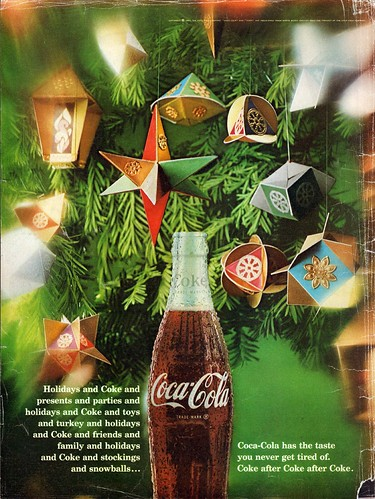 1967 Coke Coca-Cola Christmas Advertisement Life December 22 1967 | by SenseiAlan