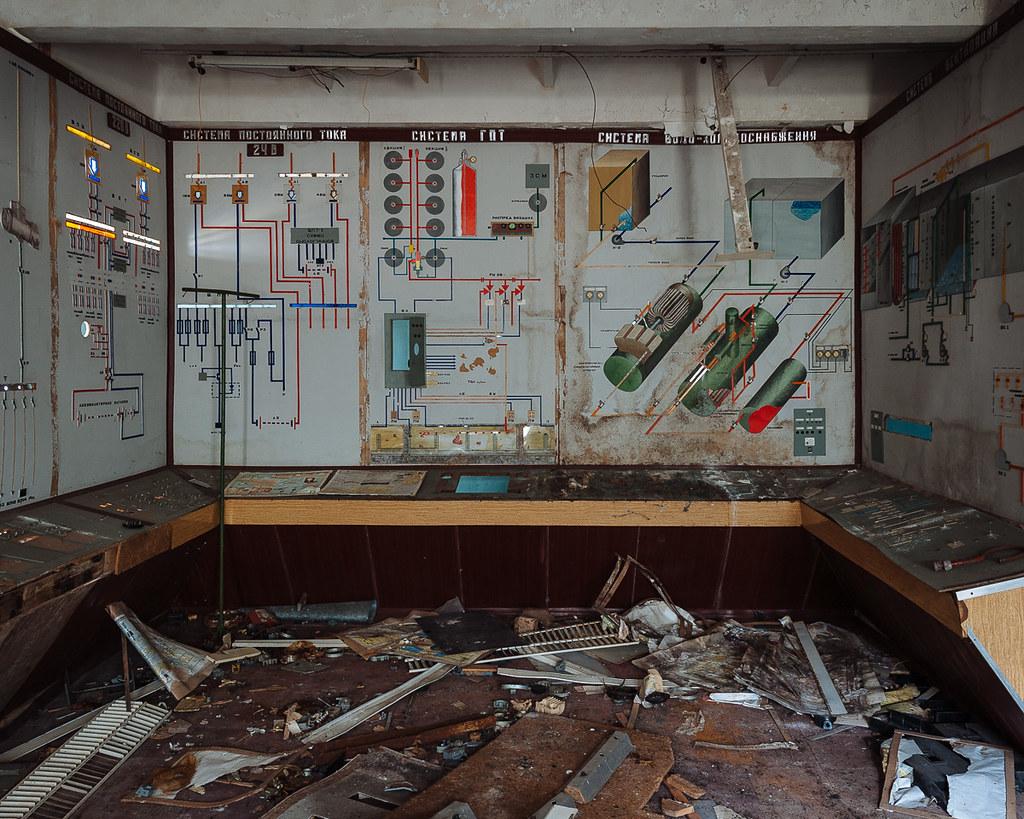 Chernobyl - Duga-3 Switch Room