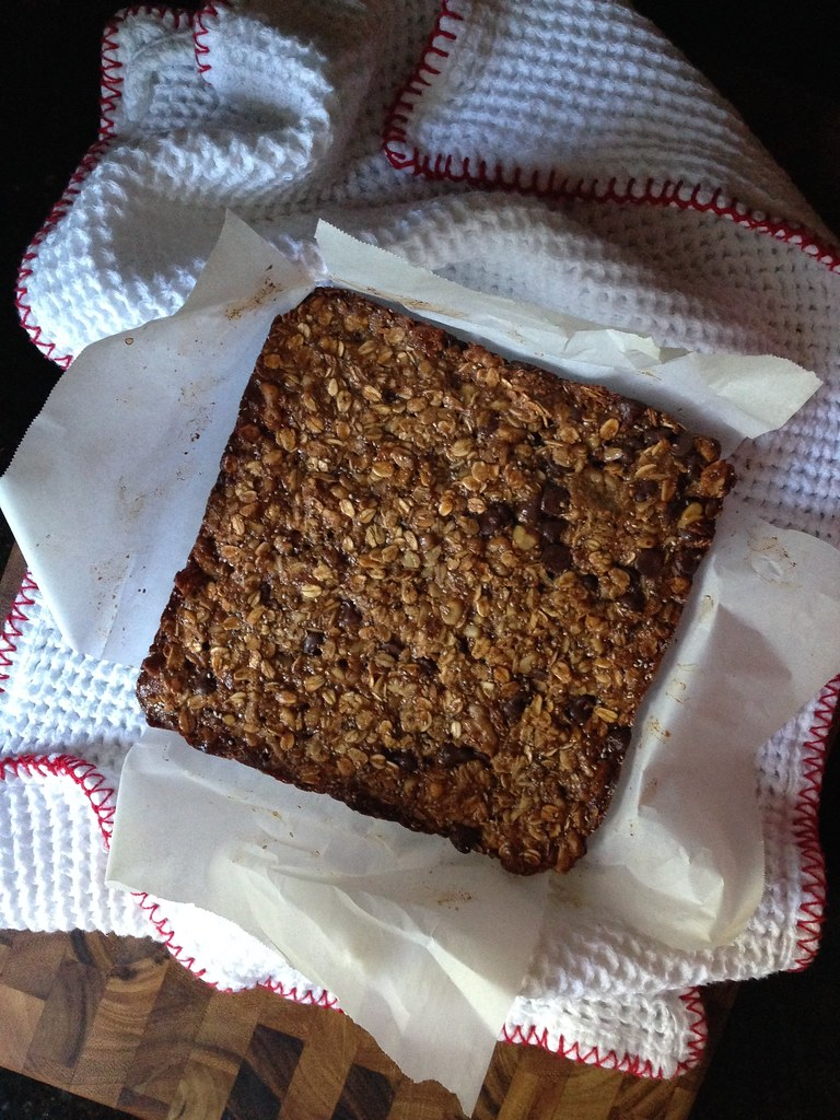 What's in my Birth Bag: homemade granola bars (recipe by Oh She Glows)