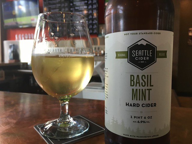 Seattle Ciders Basil Mint cider