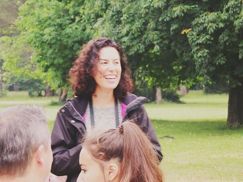 Aurélie - Directrice du footing parkrun de Mandavit