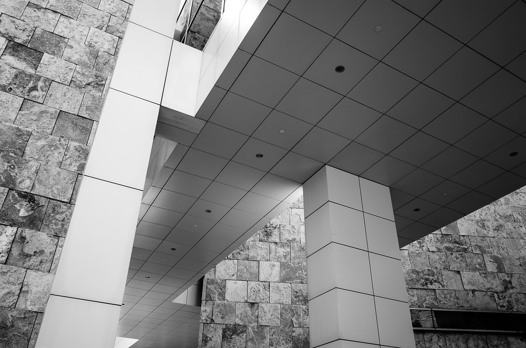 Getty Center ceiling