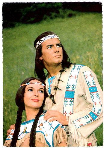 Pierre Brice and Karin Dor in Winnetou - 2.Teil (1964)