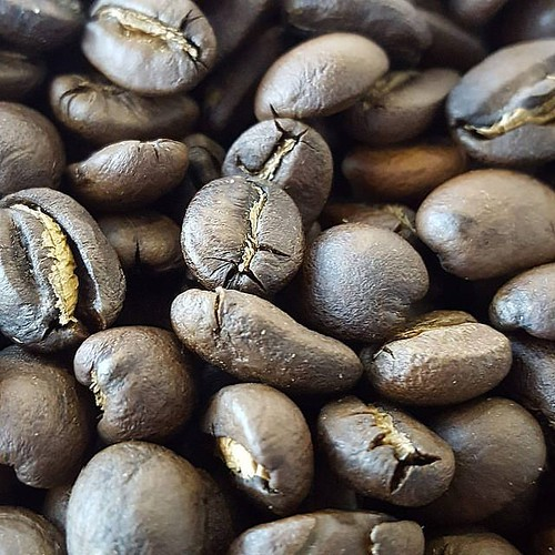 What does John do on Friday morning? Like most days, roasts coffee, of course! Sulawesi - Liang Bai Village. Roasted and Ready! #caffedbolla #singleorigin #coffee #slc #coffeebeans #roaster #coffeeroaster