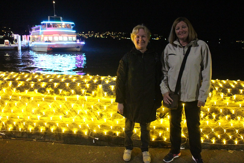 Sydney with Carolyn and Mum