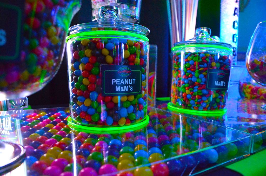 neon bar mitzvah candy buffet 4 cool neon themed bar mitzv flickr rh flickr com neon candy table Neon Colors for Cake Pop