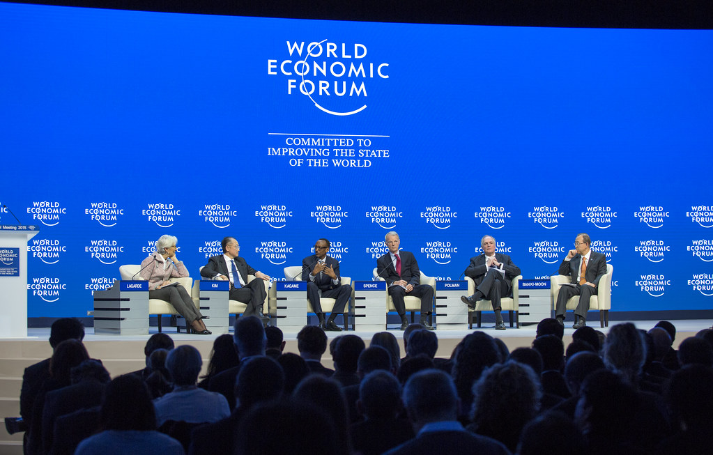 World Economic Forum. Davos 2017. Discussion on South Asia. Jan. 17. 2017.