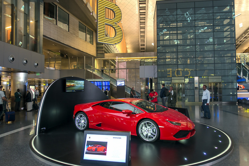 Awesome ... Globetrekimages Win A Lamborghini Huracan, Doha Airport, Qatar | By  Globetrekimages