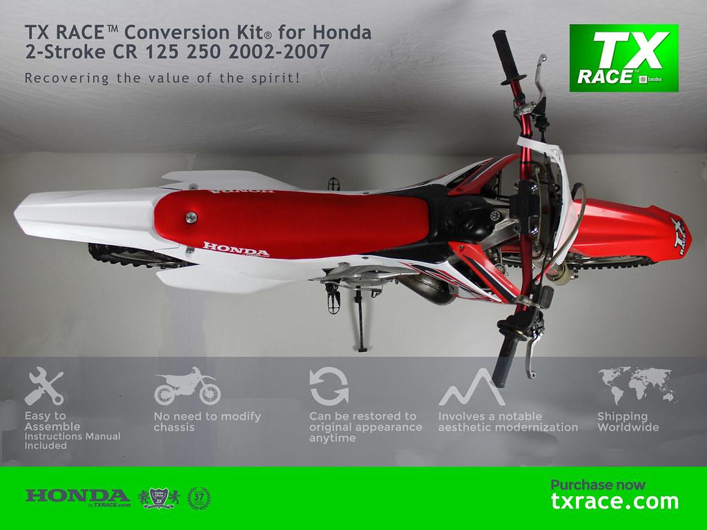 ... TX RACE™ Conversion Kit® for Honda 2-Stroke CR 125 250 2002-