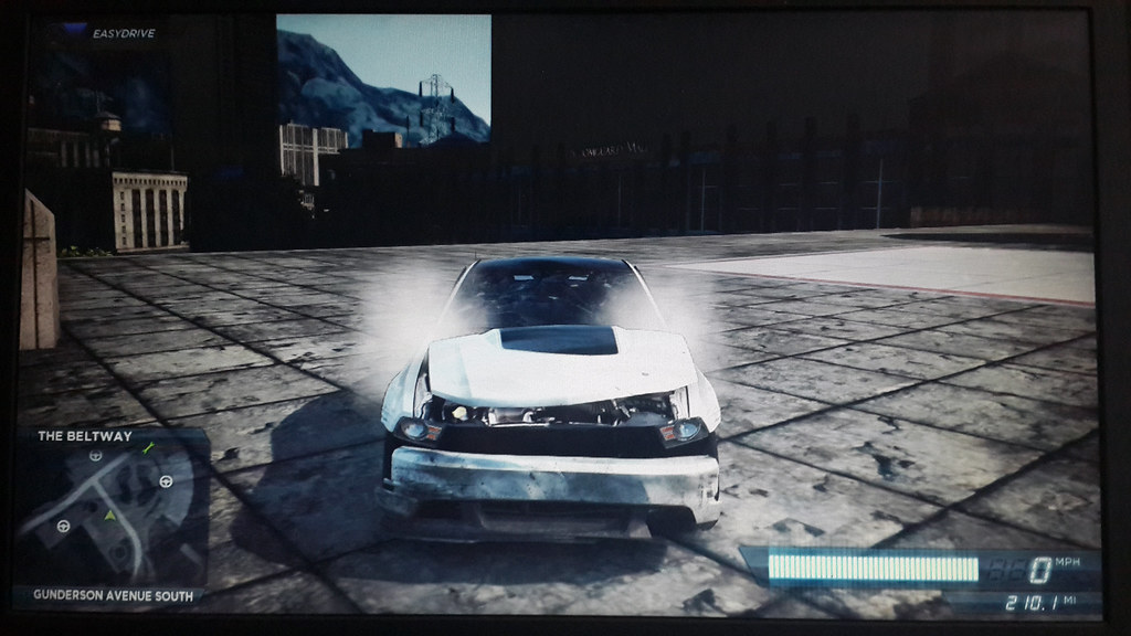 Ford Mustang Gt Need For Speed Most Wanted  Extreme Damaged By