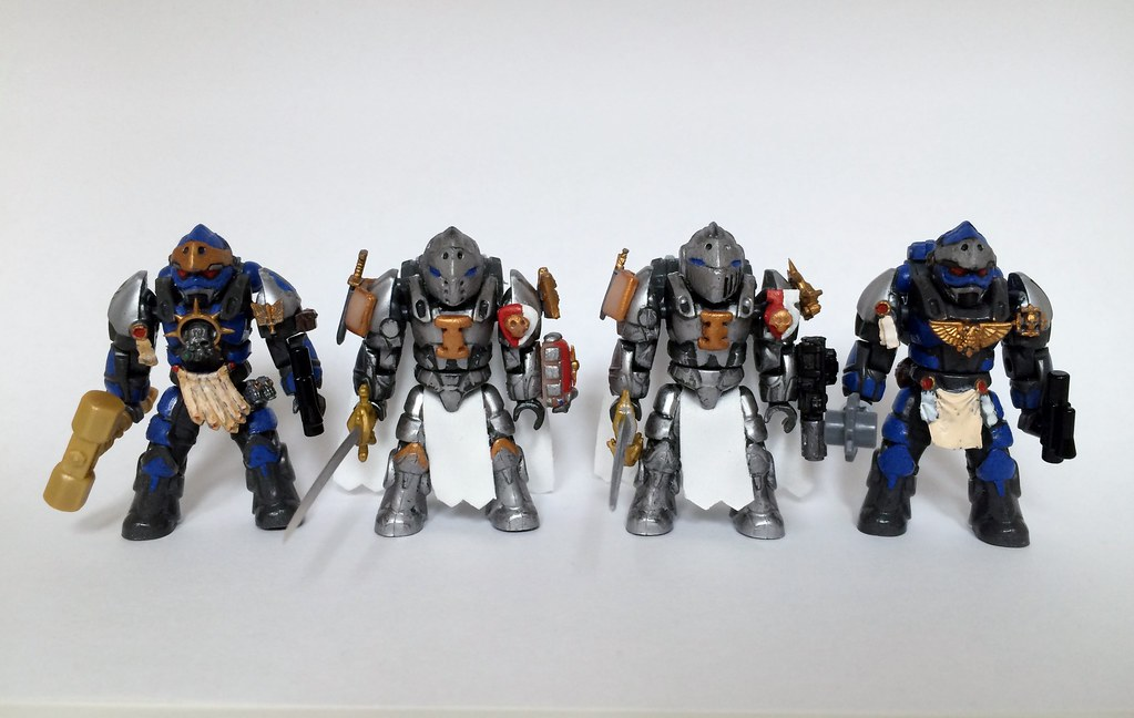 Custom Mega Bloks Warhammer 40k Space Marines | Flickr