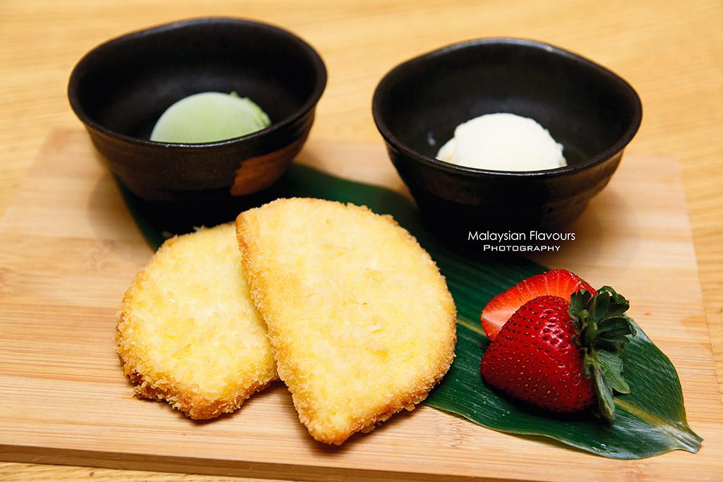 Ippudo Malaysia Grand Menu 2016 ice cream bun