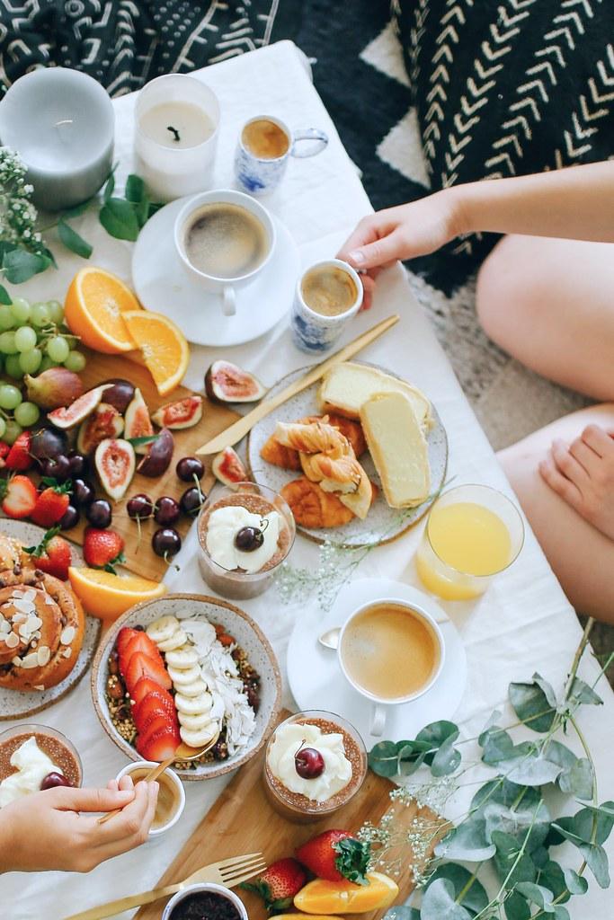Breakfast Indoor Picnic