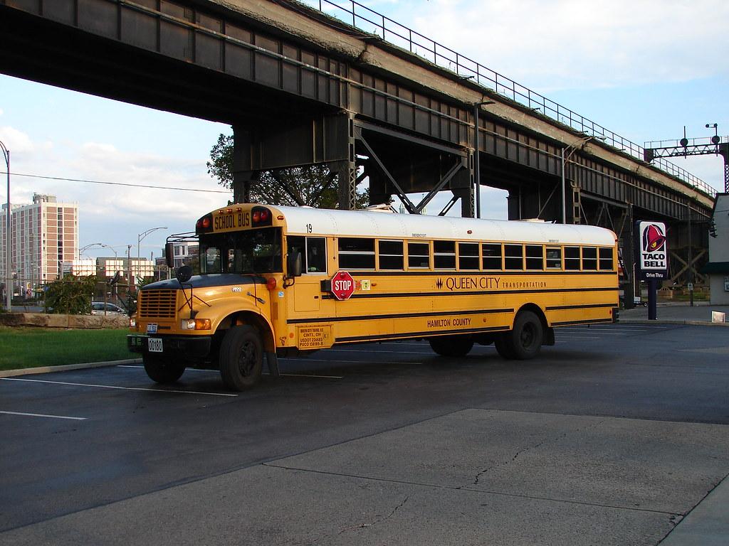 Cincinnatinkybuses Queen City Transportation 19 Ex Klug Bus Service 2 By Cincinnatinkybuses