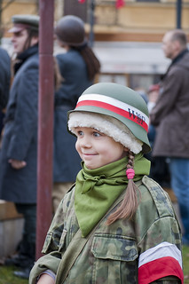 Patriotic child | by Vladimir Yaitskiy