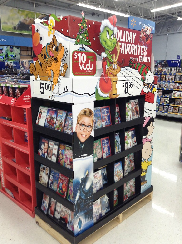 Grinch Christmas DVD Display @Walmart , 2014 by Mike Mozar… | Flickr