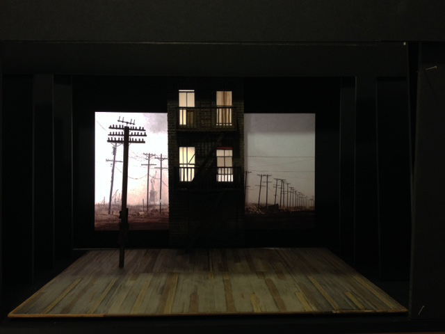 A View From the Bridge set design