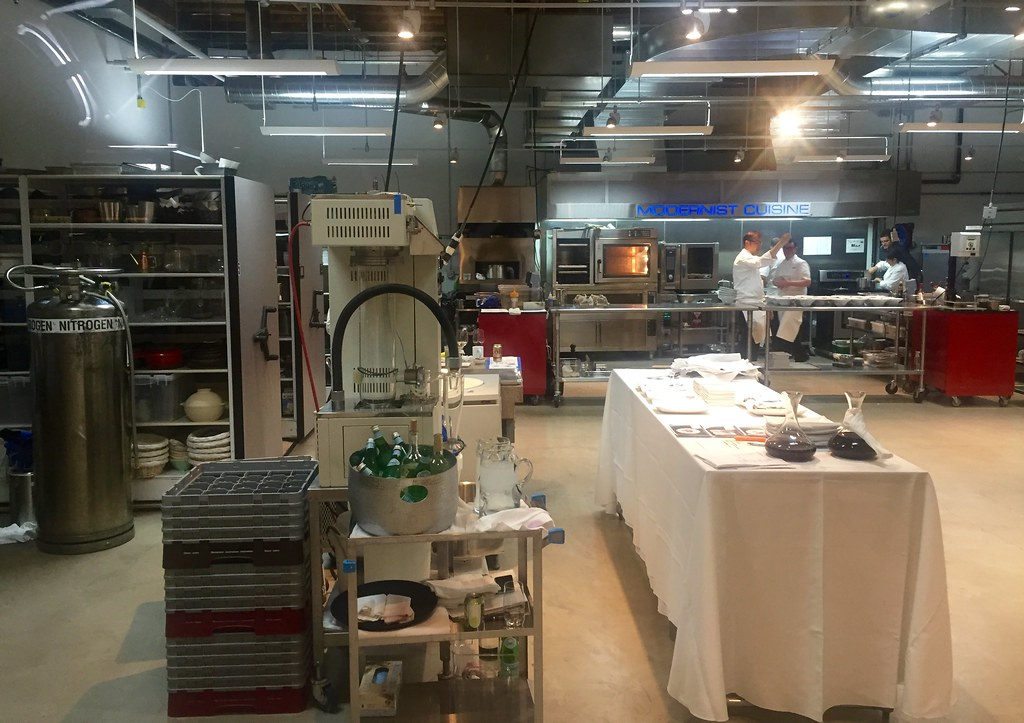 ... The Modernist Cuisine Kitchen Deep In The IV Labs | By Jurvetson