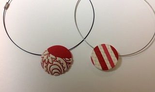 Red white necklaces | by saashka