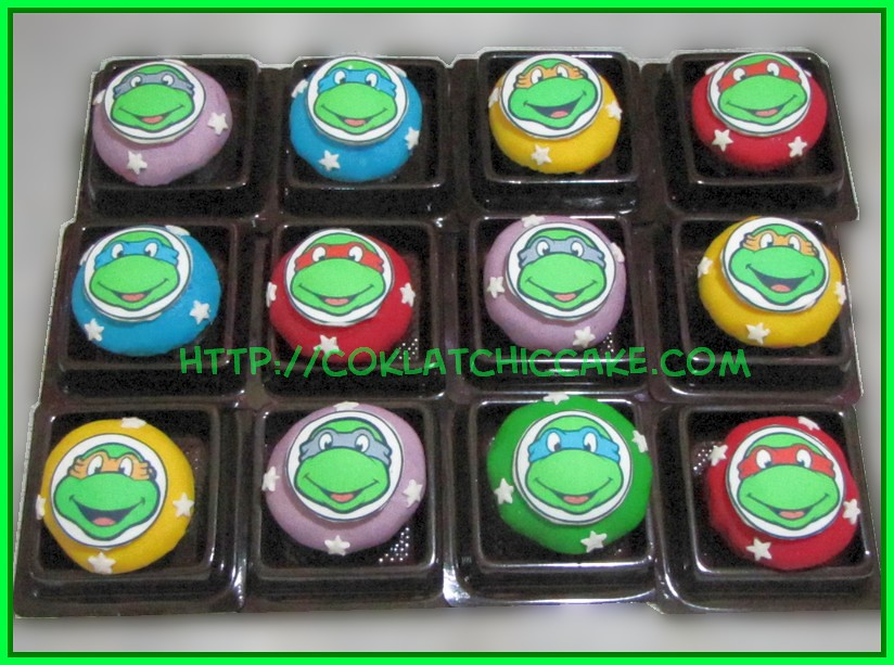 Minicupcake Ninja Turtle