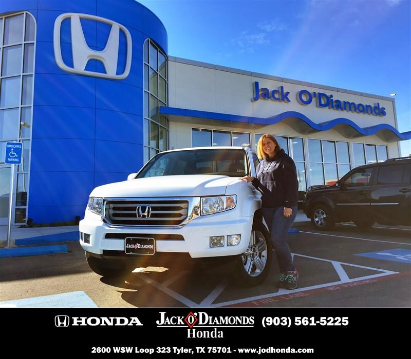 By #HappyBirthday To Teresa Peck From Roman Torres At Jack O Diamonds Honda!    By