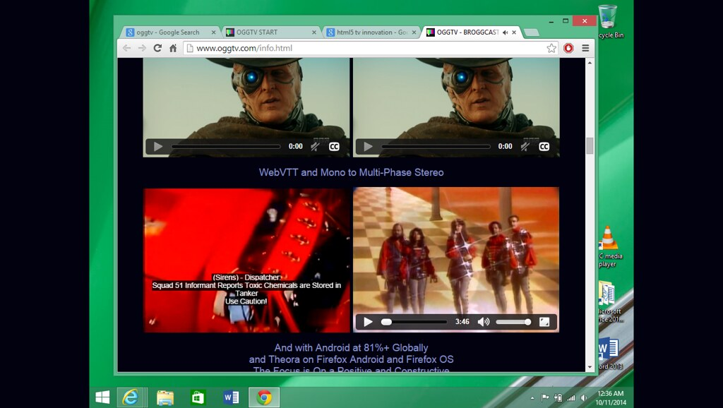 Chrome WebVTT on Windows-10 | The World-Browser Reach of The… | Flickr
