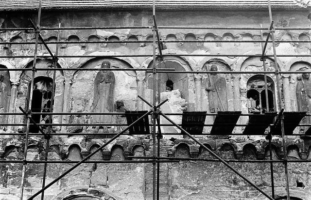 Svatý Jakub (KH), kostel (30.3.1990)