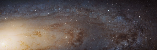 Sharpest ever view of the Andromeda Galaxy | by Hubble Space Telescope / ESA
