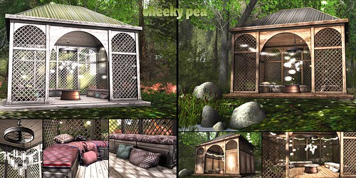 :CP: Kara Gazebo Set Light or Medium | by Isla Gealach / Cheeky Pea