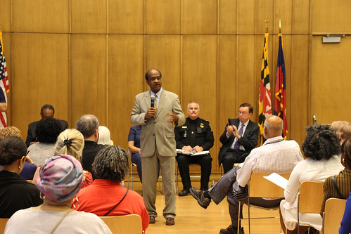 Town Hall Meeting with Police