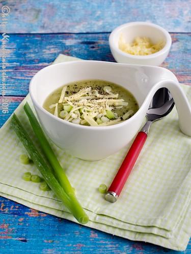 Zucchini-Kartoffelsuppe mit Cheddar (2)