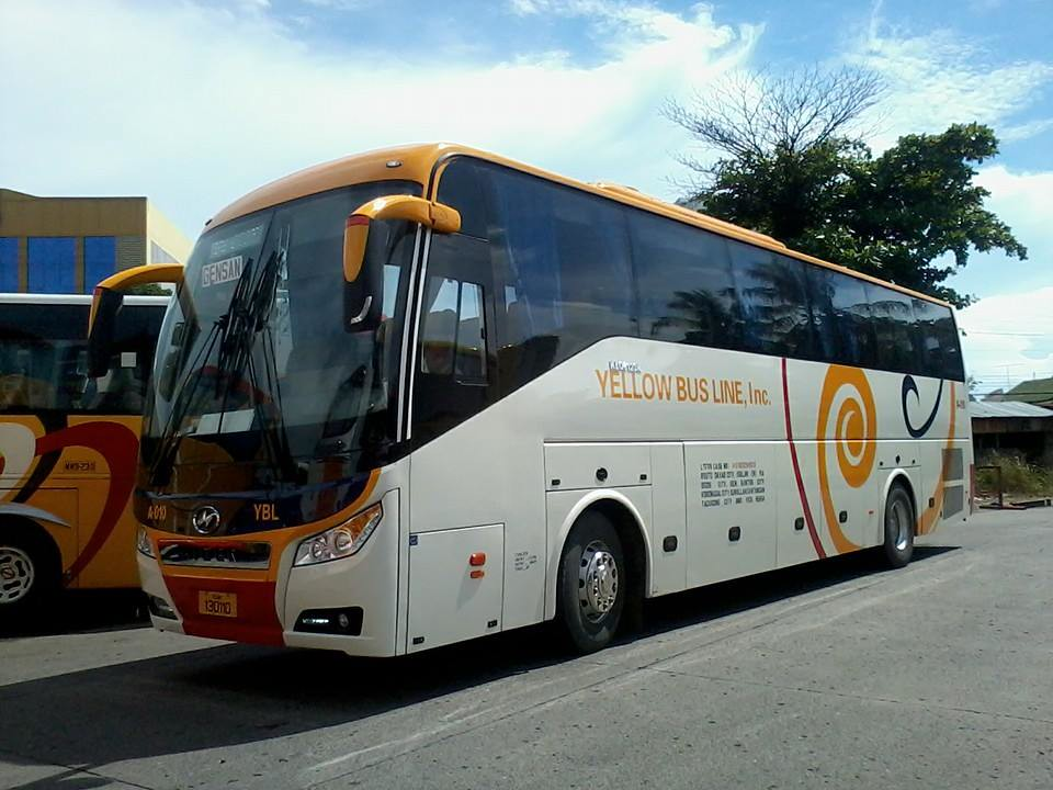 yellow bus line inc executive class a 010 davao s pride flickr