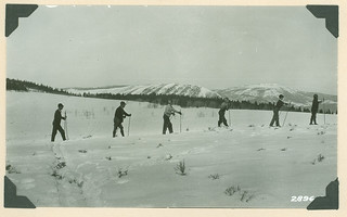 Skiers enjoying the Winter Ski Carnival at Hot Sulphur Springs | by USDAgov