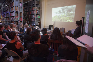 PLACE TALKS at the Prelinger Library for Open Engagement 2016 | by nicoleyfun