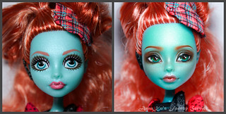 OOAK repaint of MonsterHigh | by AnnaZu