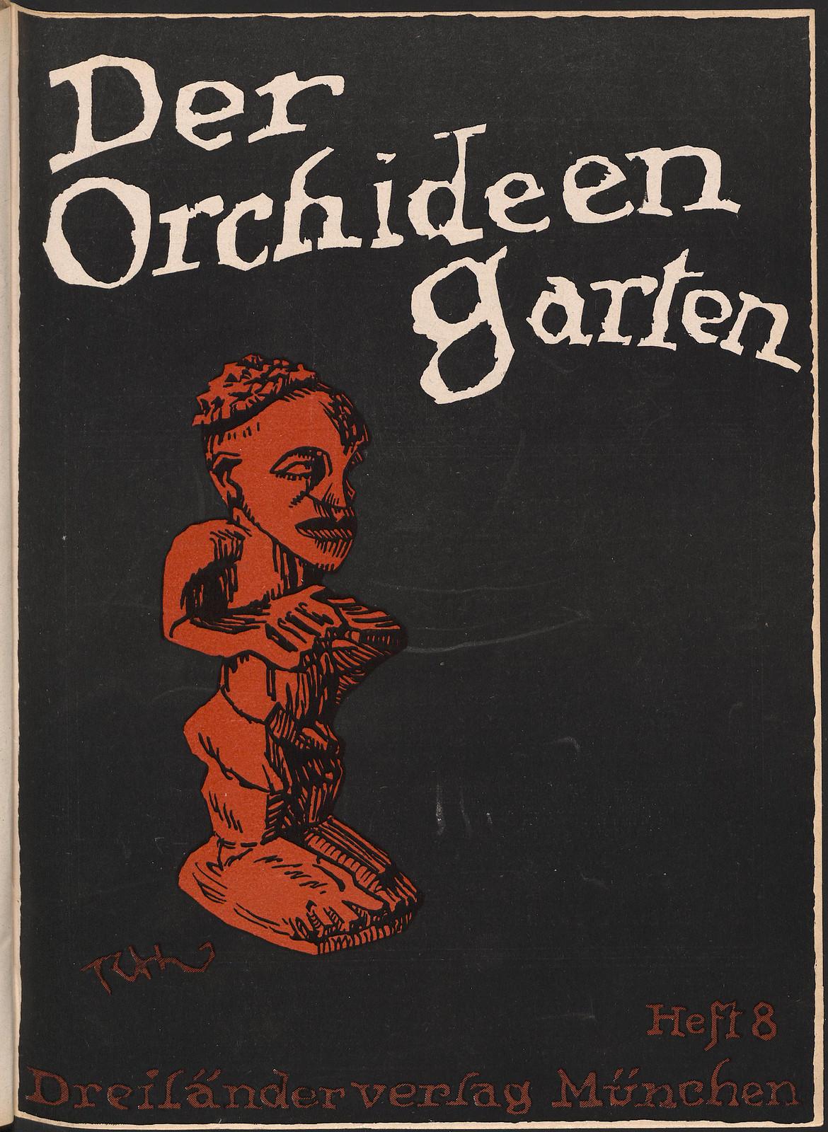 Der Orchideengarten - 1919 (Cover 8)