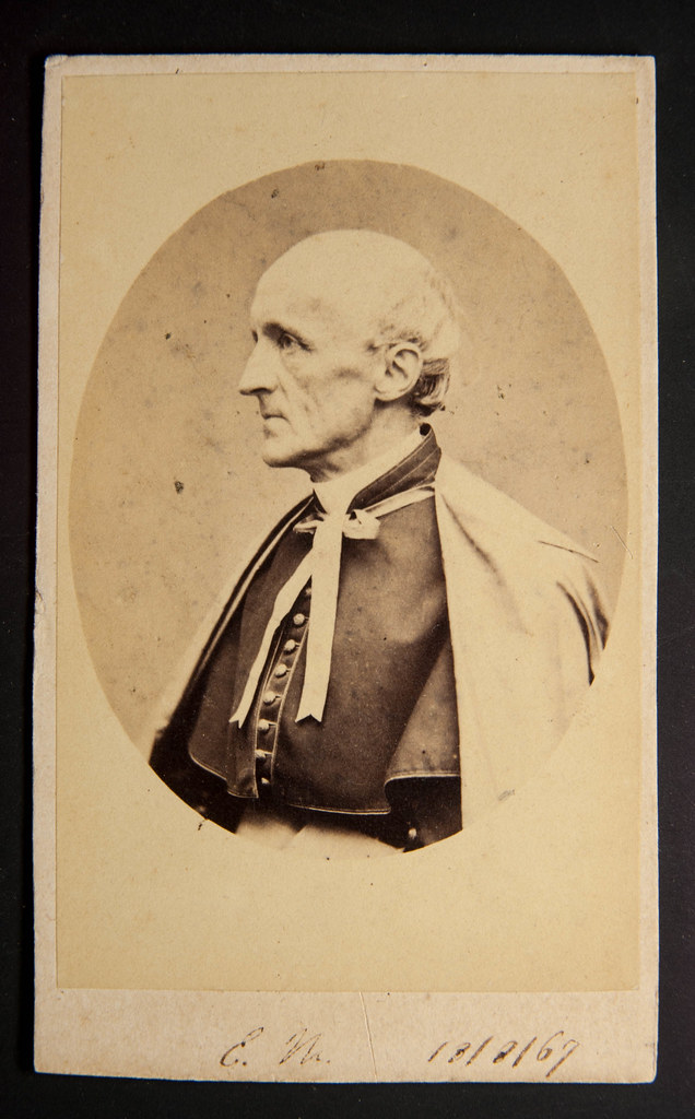 Carte De Visite Of Cardinal Henry Edward Manning Dated 18 August 1867 By Marianeggi